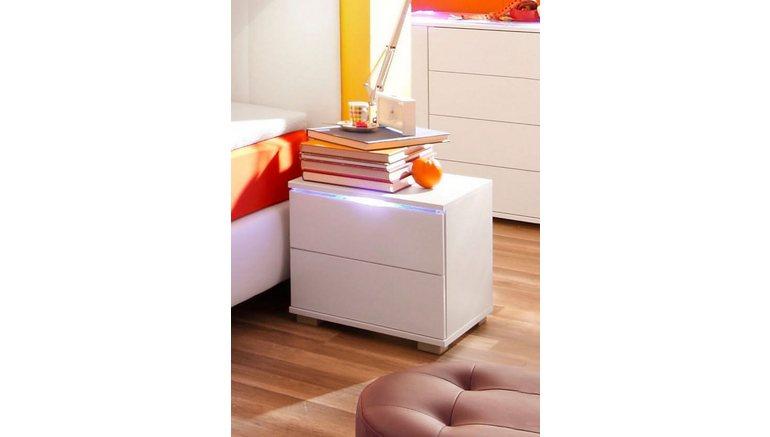 Ongebruikt Nachtkastje met LED-verlichting in de online winkel   OTTO OY-74