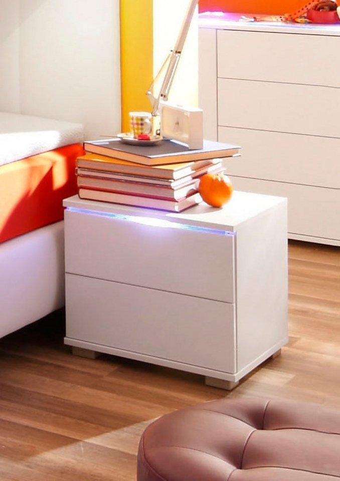 Betere Nachtkastje met LED-verlichting in de online winkel   OTTO QU-62