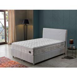 i̇sti̇kbal bonell-binnenveringsmatras new relax sleep afneembare comfortschuimtopmatras met hoogwaardige viscosetijk hoogte 27 cm wit