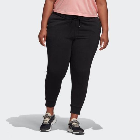 adidas performance Plus Size sportbroek zwart