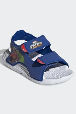 adidas performance sandaaltjes blauw