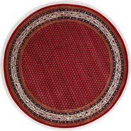 theko oosters tapijt »chandi mir«, theko, quadratisch, hoehe 12 mm, manuell geknuepft rood