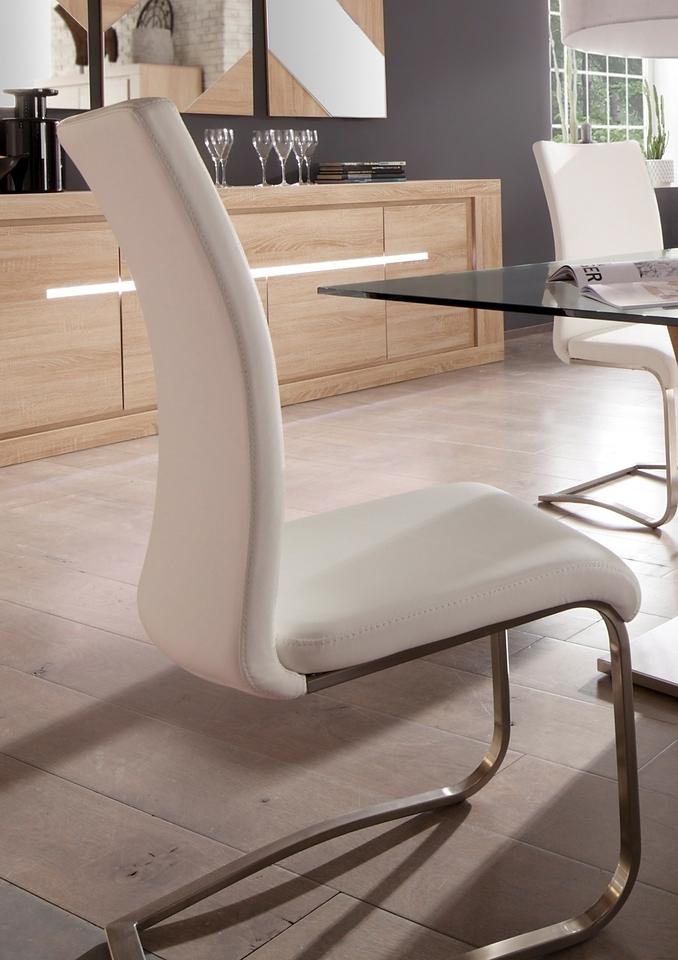 MCA furniture Vrijdragende stoel in set van 2, 4 of 6 in de webshop van OTTO kopen