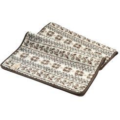 linke licardo fauteuilbeschermer malmoe gemaakt van zuivere scheerwol bruin