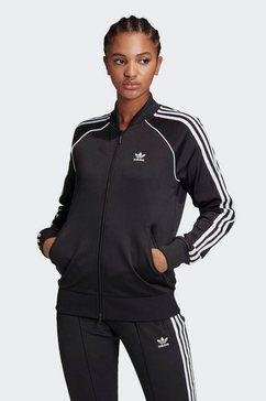 adidas originals trainingsjack superstar pb adicolor primeblue originals regular womens zwart