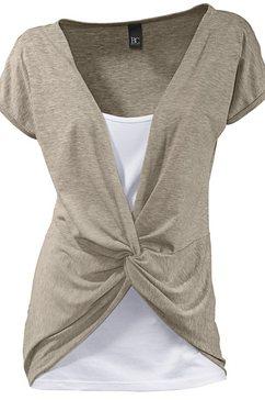 shirt 2-in-1 beige