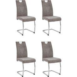 hela stoel ruth ii s 2 of 4 stuks (set, 4 stuks) grijs