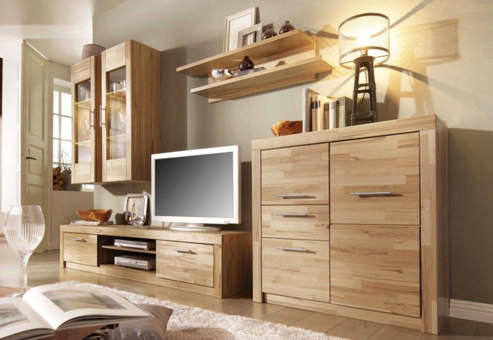 wandmeubel made in germany 5 delige set online shoppen otto. Black Bedroom Furniture Sets. Home Design Ideas