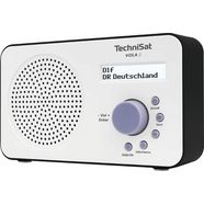 technisat digitale radio (dab+) viola 2 draagbare wit