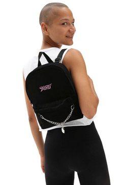 vans rugzak »together forever mini backpack« zwart