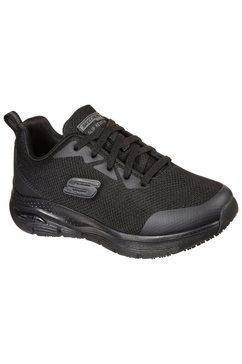 skechers werkschoenen arch fit sr in eenkleurige look zwart
