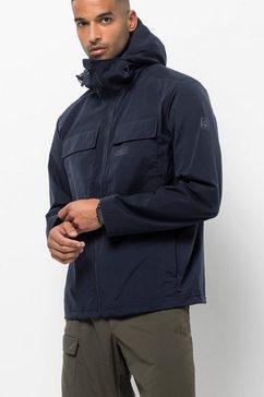 jack wolfskin windbreaker »summer storm jacket m« blauw