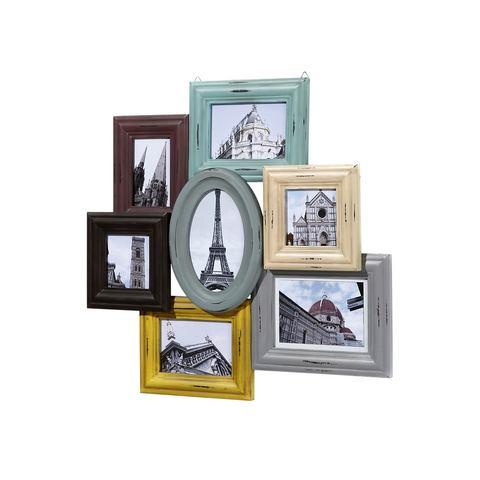 Fotolijstje in matte retrokleur
