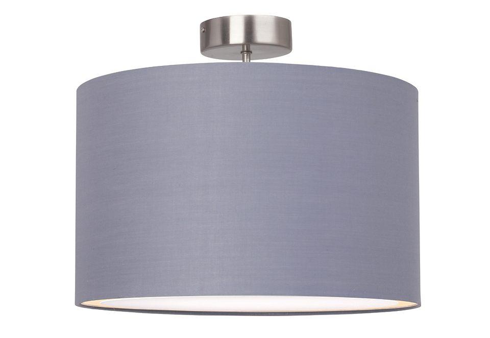 Brilliant hanglamp met textielen kap makkelijk gekocht otto