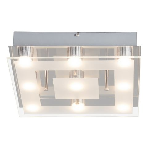 BRILLIANT LED-plafondlamp met 9 fittingen