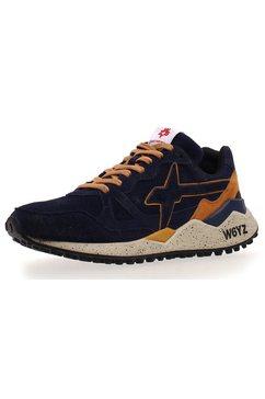 w6yz sneakers »wolf« blauw