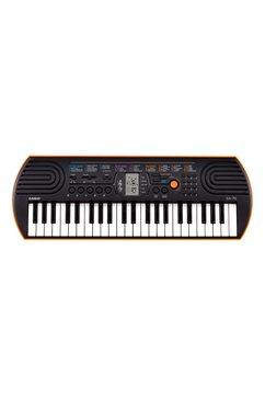 casio keyboard mini-keyboard sa-76 (set) zwart