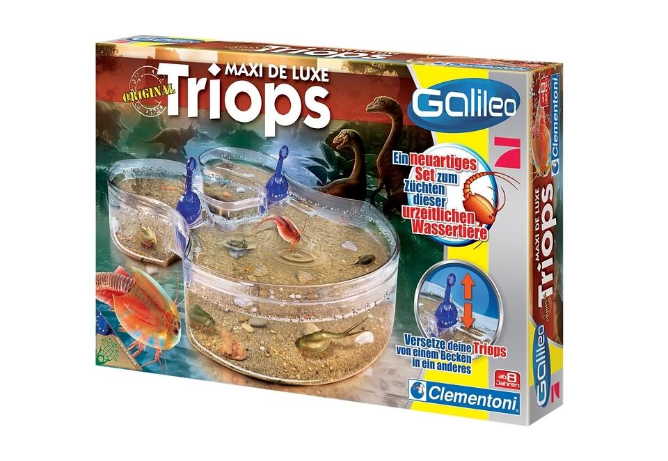 Clementoni experimenteerbox Galileo Triops Maxi de Luxe Gemaakt in Europa bij OTTO online kopen