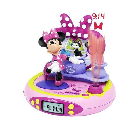 Minnie Mouse BowTique Wekker Projector met Radio