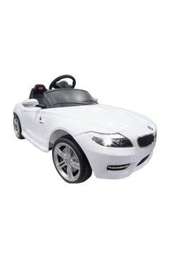 jamara elektrische kinderauto wit