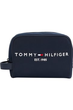 tommy hilfiger make-uptasje »established« blauw
