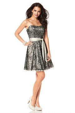 Babydoll-jurk in dubbellaags model