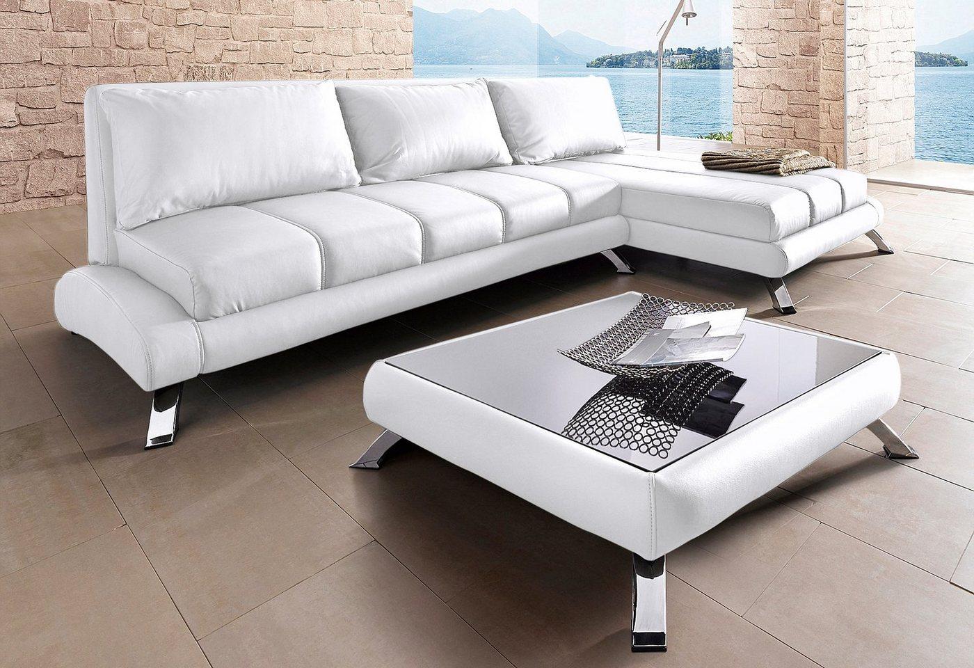 Hoekbank in lounge-stijl