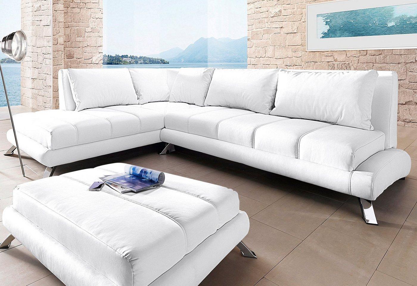 Hoekbank in in lounge-stijl