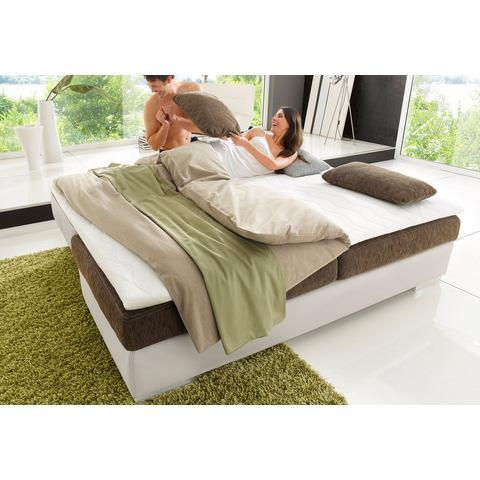 Bedbank met rug- en armkussens