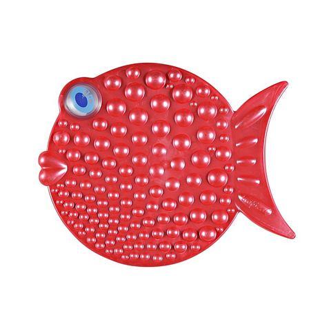 Badkameraccessoires Antislip-douchemat 5741 rood
