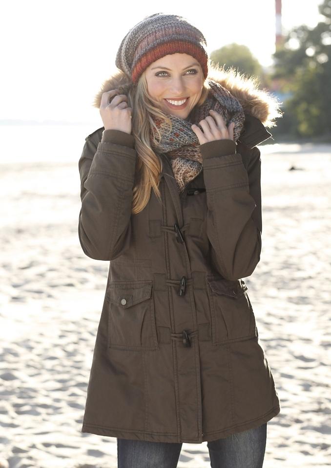 Op zoek naar een Aniston CASUAL parka met rijgkoord voor het verstellen van de wijdte? Koop online bij OTTO