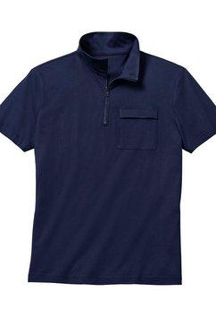 classic poloshirt blauw