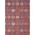 elle decoration vloerkleed anatolian orint-look, woonkamer rood