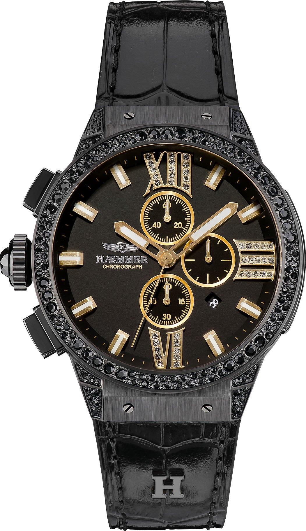 HAEMMER GERMANY chronograaf DARK NIGHT, E-002-Sg - gratis ruilen op otto.nl