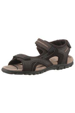 geox sandalen met gepatenteerde, speciale geox-membraan bruin