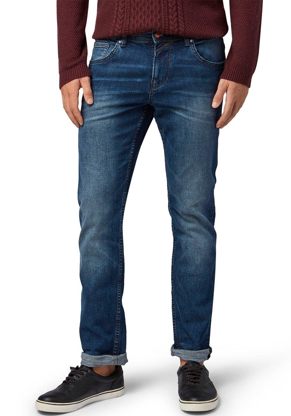Tom Tailor Denim straight jeans AEDAN STRAIGHT bij OTTO online kopen