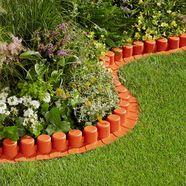 "set: gazonrand ""flexible lawn edging"", lxh: 440x6 - 18 cm, verschillende kleuren oranje"