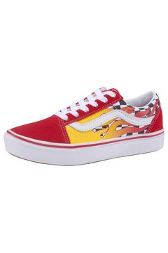 vans sneakers »comfycush old skool« rood