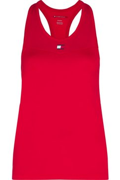 tommy sport sporttop »tight tank top« rot