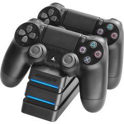 snakebyte controller-oplaadstation twin: charge 4 oplaadstation (zwart) zwart