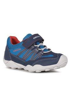 geox kids sneakers tawis boy met zacht verdikte rand blauw