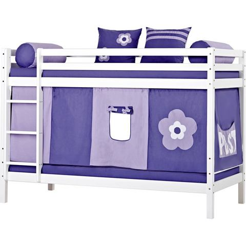 HOPPEKIDS Stapelbed Purple Flower