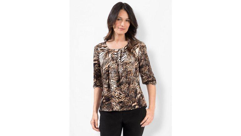 Lady gedessineerde blouse