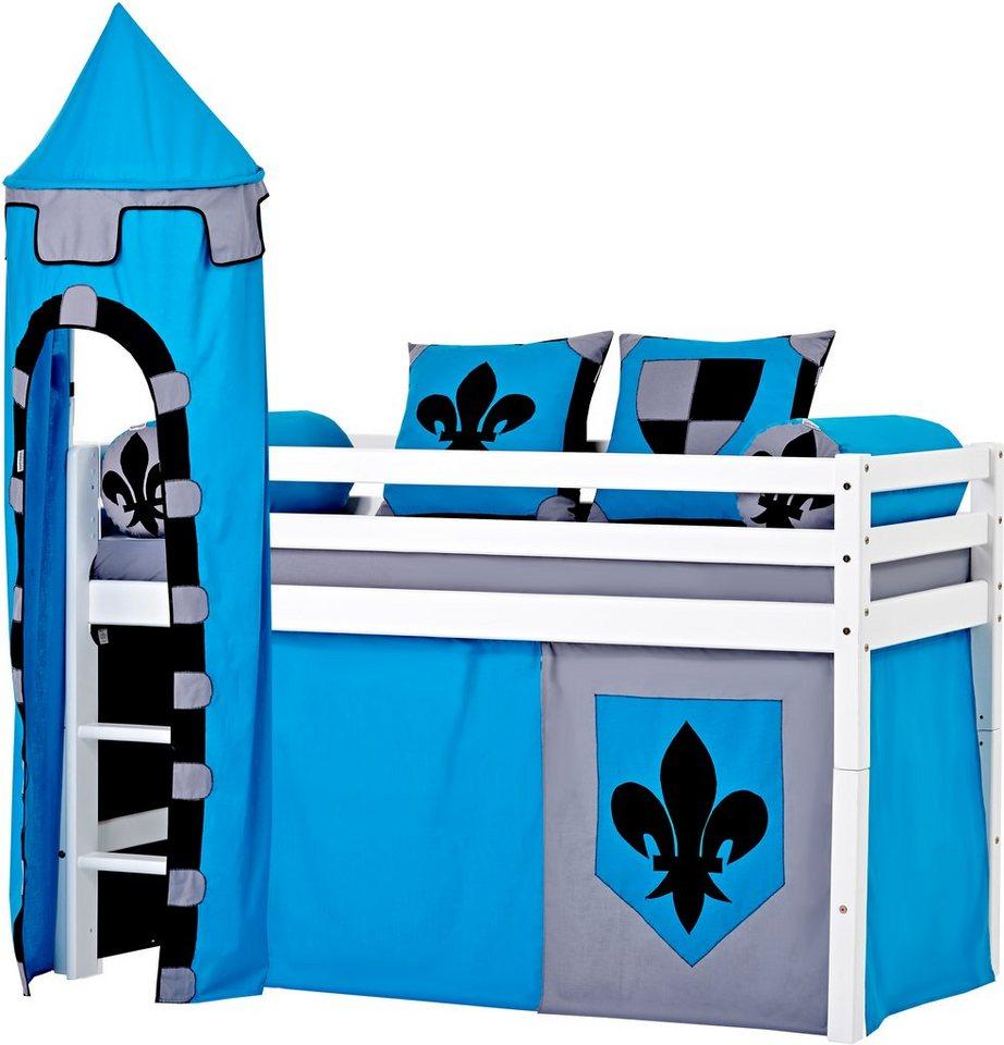 Hoppekids halfhoogslaper 'Castle', 3-delige set