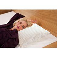 mps textiles neksteunkussen pocket spring kussen ultra punctuele en dekkende elasticiteit wit