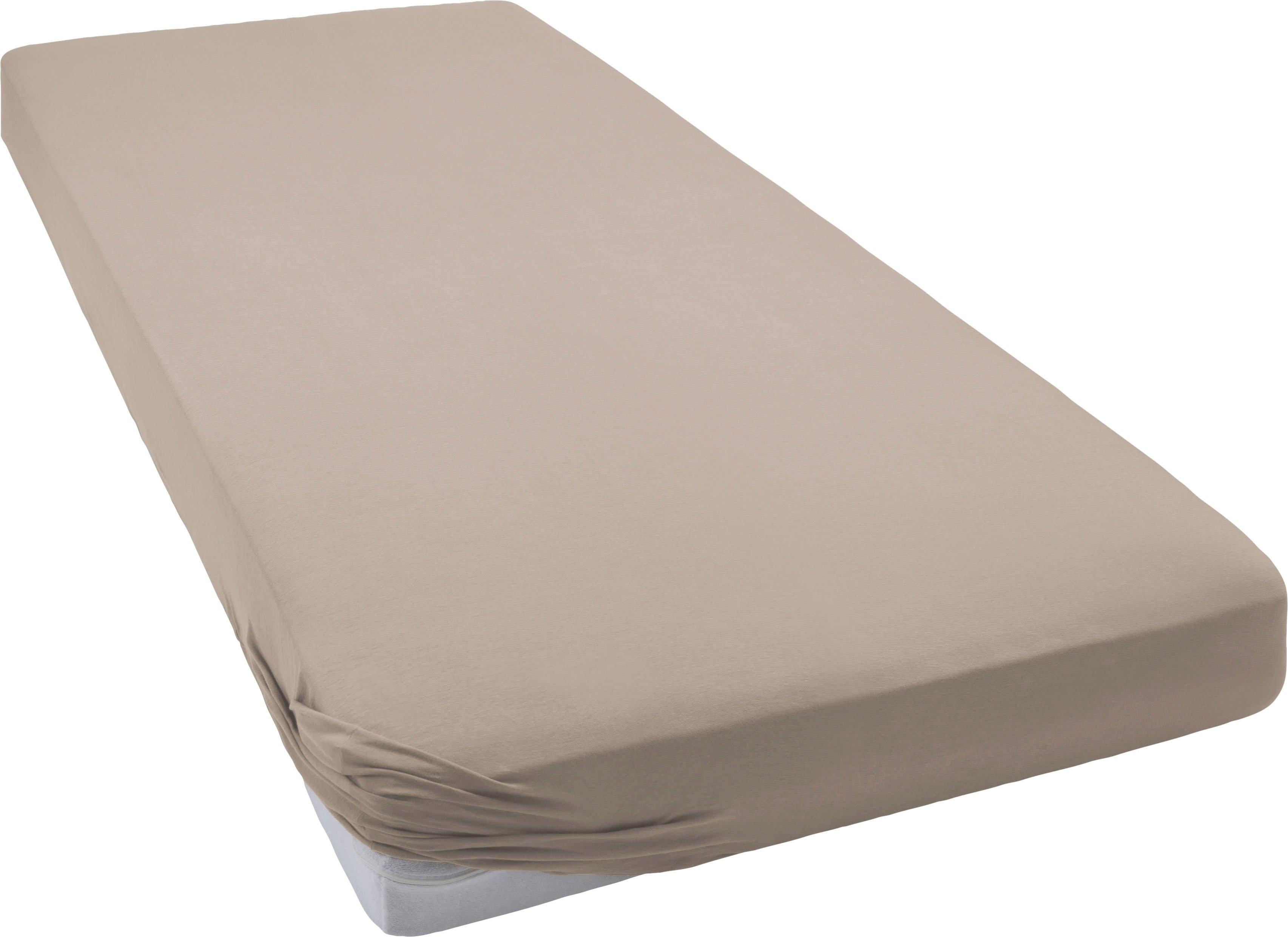 bellana Hoeslaken Jersey-elastan deluxe voor waterbedden en boxsprings (1 stuk) nu online kopen bij OTTO