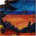 artland artprint landschap (aan de oostzee). 1911 in vele afmetingen  productsoorten - artprint van aluminium - artprint voor buiten, artprint op linnen, poster, muursticker - wandfolie ook geschikt voor de badkamer (1 stuk) multicolor