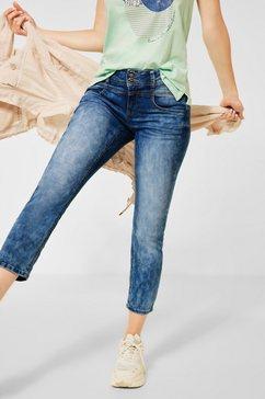 street one 7-8 jeans 4-pocketsstijl blauw