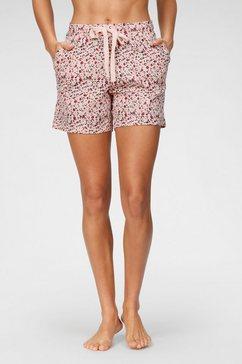 schiesser pyjamashort roze