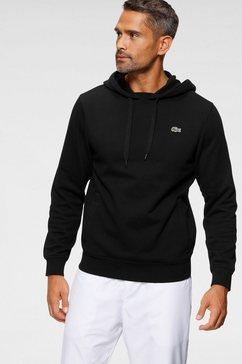 lacoste hoodie zwart
